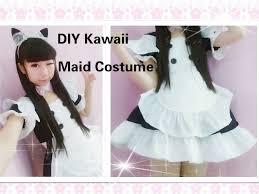 kawaii anime cosplay diy how to make neko maid cafe costume