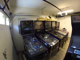 current climate controlled garage pinball u0026 arcade game room youtube