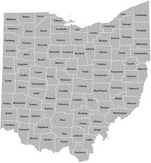 map of counties in ohio county trends