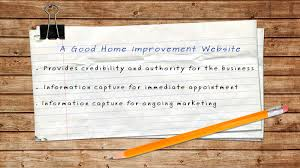 what makes a good home home improvement marketing pros home improvement lead generation website