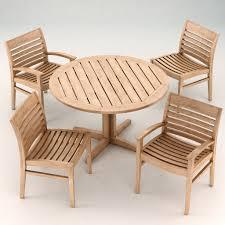Garden Table Garden Furniture Set Wellspring Landscape Forms 3d Model Max Obj