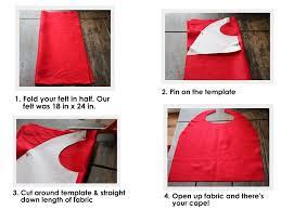 no sew superhero capes free template jolly mom