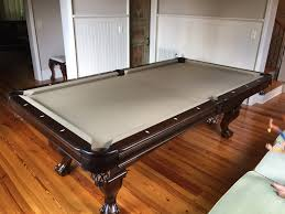 Antique Brunswick Pool Tables by Brunswick Glenwood Espresso Pool Table Install By Everything