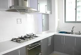 vinyle cuisine papier adhésif gris brillant vinyle adhésif pour relooking cuisine
