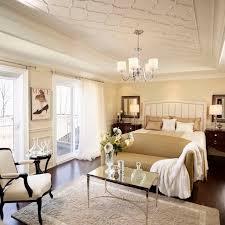 Traditional Bedrooms - bedroom fancy cream footboard design inside traditional bedroom