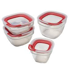 amazon com rubbermaid easy find lids glass food storage container
