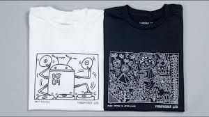 Turn Table Lab Keith Haring X Turntable Lab Collection Printed In Brooklyn