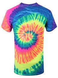 off men u0027s tie dye t shirt neon rainbow buy online at