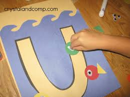 crystalandcomp letter of the week u preschool craft