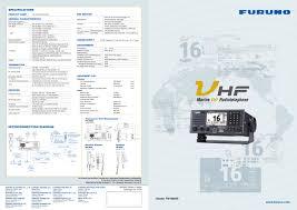 vhf furuno deepsea pdf catalogues documentation boating