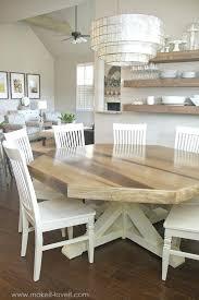 8 person round dining table u2013 rhawker design