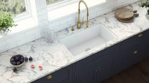 best kitchen sink for 30 inch base cabinet ruvati 30 inch fireclay undermount drop in topmount