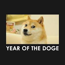 Dogee Meme - funny year of the doge meme chinese calendar 2018 meme t shirt