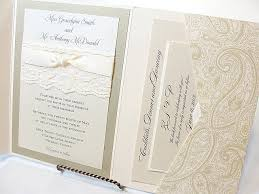 wedding invitations lace lace and gliitter wedding invites