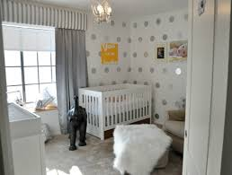 diy polka dot nursery wall project nursery