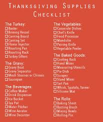 your ultimate thanksgiving supplies checklist katom