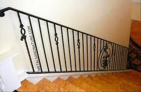staircases u0026 stair railings of handmade wrought iron metals u0026 nature