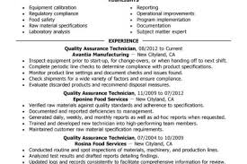 Quality Assurance Resume Example by Quality Assurance Resume Examples Wellness Resume Samples Resume