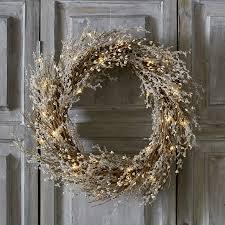 pre lit beaded christmas wreath christmas wreaths u0026 garlands