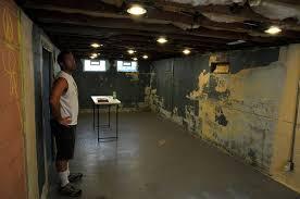 fromthefieryfurnace basement reno lights insulation ceiling
