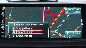 bmw how to stop navigation youtube