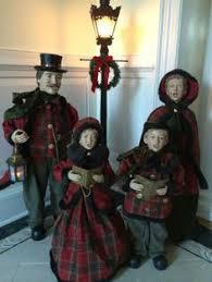 carolers figurines buy lights trees