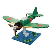 mitsubishi lego amazon com kawada zero sen nanoblock building kit toys u0026 games