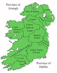 National Map National Map U2013 Diocese Of Cashel Ferns And Ossory