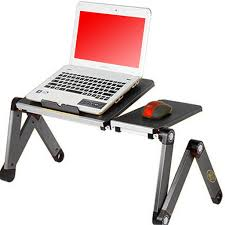 Portable Standing Laptop Desk by Portable Adjustable Laptop Desk Table Vented Lightweight Ergonomic Tv