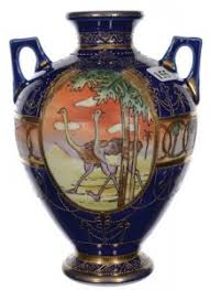 Nippon Hand Painted Vase Nippon Hand Painted Porcelain At An Affordable Price Antique Trader