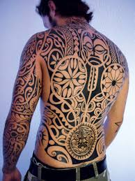 tribal tattoo design by christopher souloumiac of positif tattoo