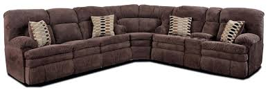 Sectional Sofas With Recliner by Homestretch 103 Chocolate Series Reclining Corner Sectional Sofa
