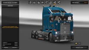 new model kenworth trucks ats kenworth k108 v2 0 v1 4 x 1 5 x truck american truck