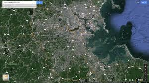 Traffic Map Boston by Boston Massachusetts Map