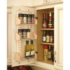 Kitchen Cabinet Storage Bins Rev A Shelf 25 In H X 13 125 In W X 4 In D Medium Cabinet Door