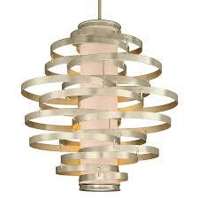 vertigo spiral bronze and gold leaf modern pendant chandelier lighting modern living room vertigo pendant corbett lighting chandelier a spotlight on pendants