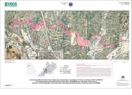 City Of Atlanta Map by Usgs Scientific Investigations Map 3189 Flood Inundation Maps For