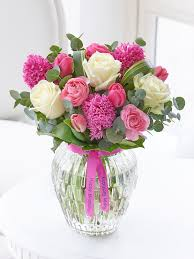 flowers birthday happy birthday scented springtime vase flowers