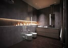 Dark Bathroom Ideas by 15 Modern Grey Bathroom Interior Design Ideas Dark Grey Modern