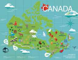 The Map Of Canada by Pgic Illustrated Map Of Canada U2013 Holly Truax Illustration U0026 Design