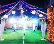 marriage decoration front bazzar mahadev marriage decoration jind