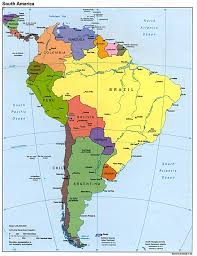 Physical Map Of South America Rivers by Samerica 95 Jpg