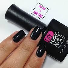 amazon com best uv soak off gel shellac nail polish black