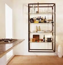 wall mounted kitchen shelves storage wall mounted shelving units remodelista