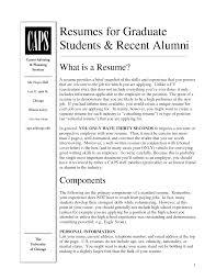 graduate student resume samples resume examples for graduate
