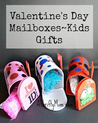 kids valentines gifts s day mailboxes kids gifts a thrifty recipes