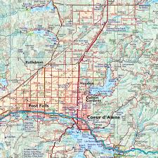 Idaho State Map by Idaho Road U0026 Recreation Atlas U2014 Benchmark Maps