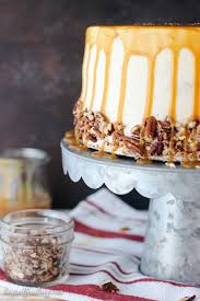best cake salted caramel butterscotch cake with brown butter frosting