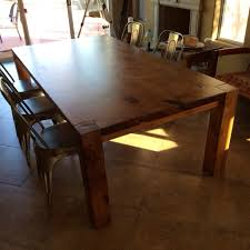 Redwood Dining Table Dining Table Workshop Class Porter Barn Wood