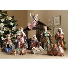 classic nativity set royal doulton figurine seaway china